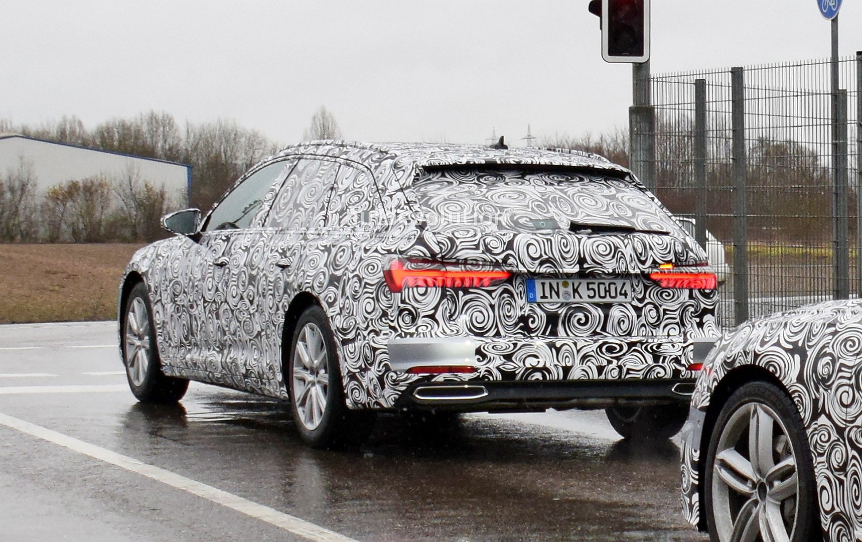 2019 Audi A6 Avant Spied In Detail Fake Exhaust And Awesome