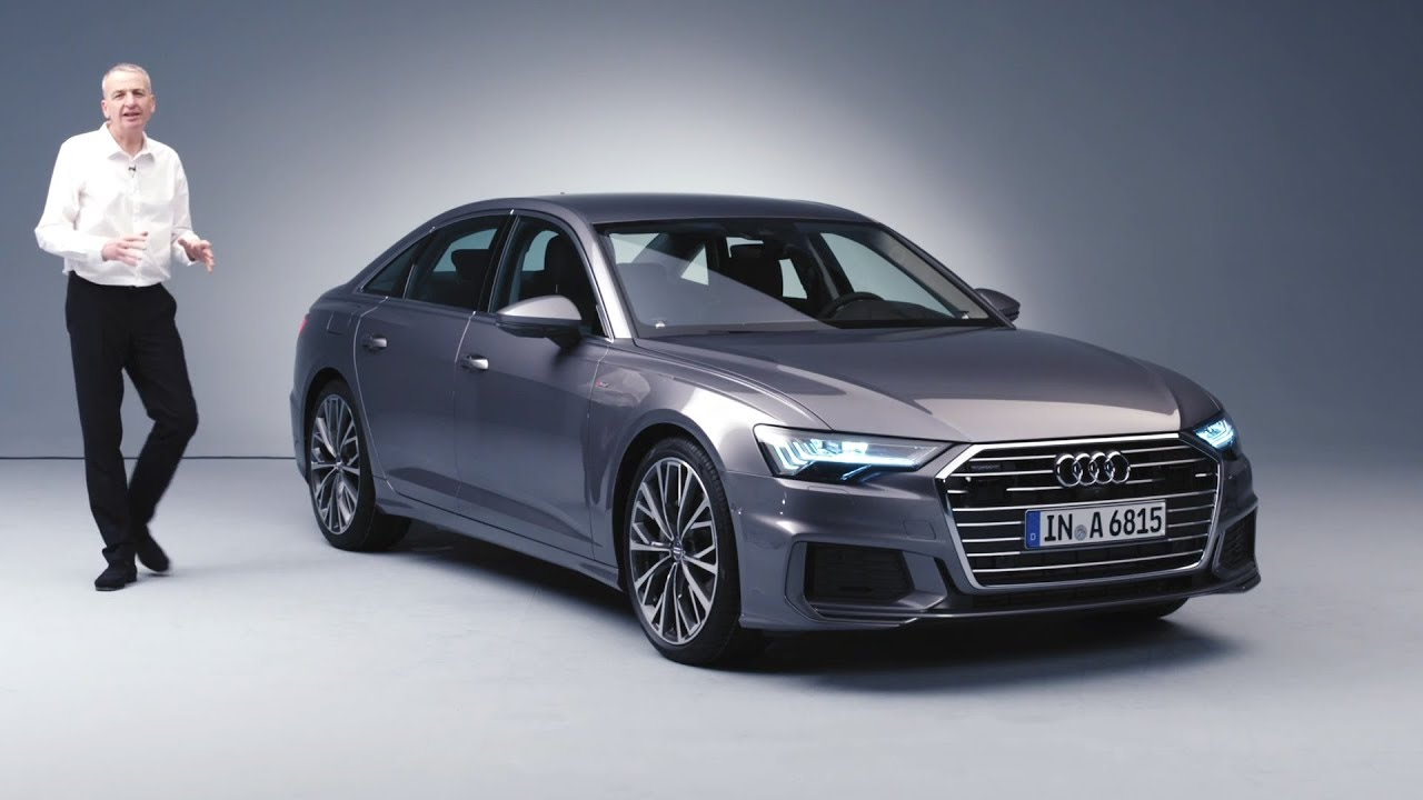 All-new Audi A6 revealed