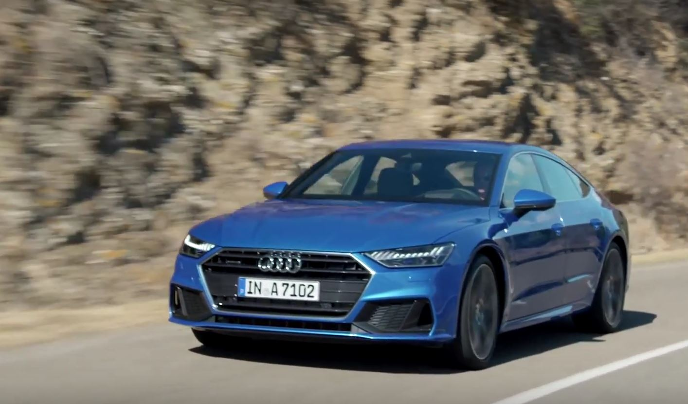 2019 audi a7 sportback shines in new official videos autoevolution. Black Bedroom Furniture Sets. Home Design Ideas