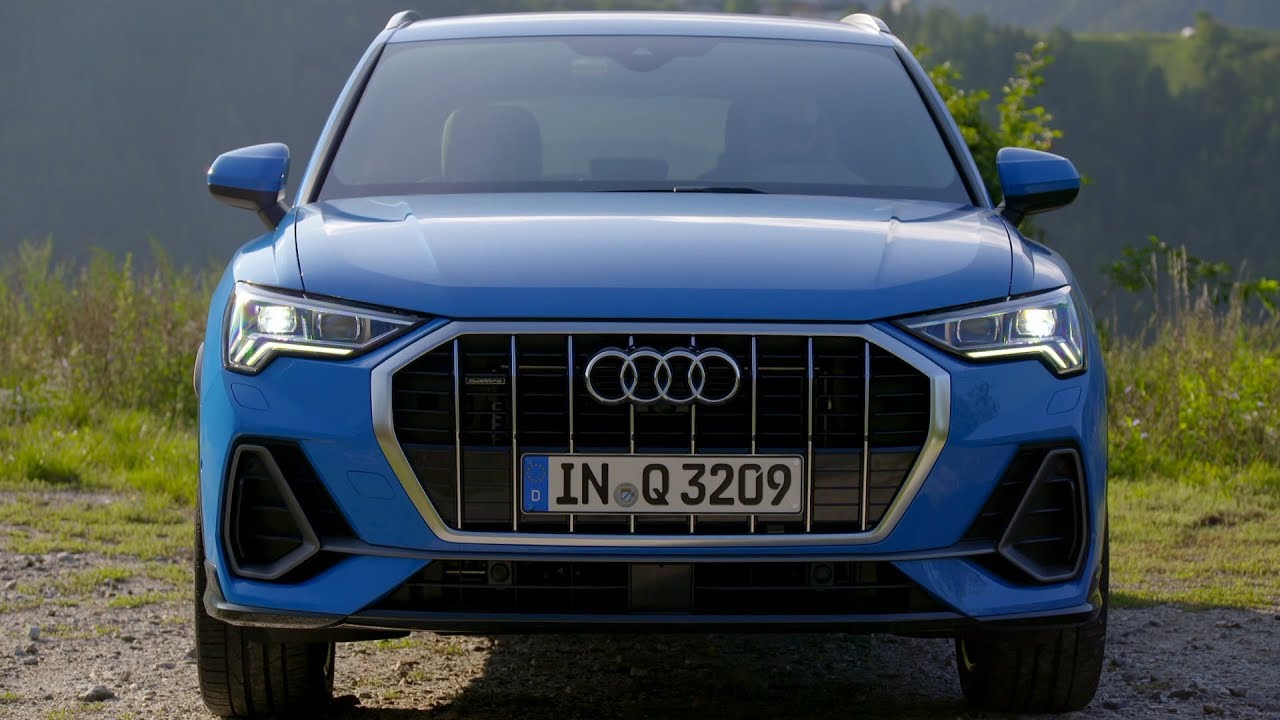 2019 Audi Q3 Videos Show Turbo Blue Pulse Orange And Chronos Grey