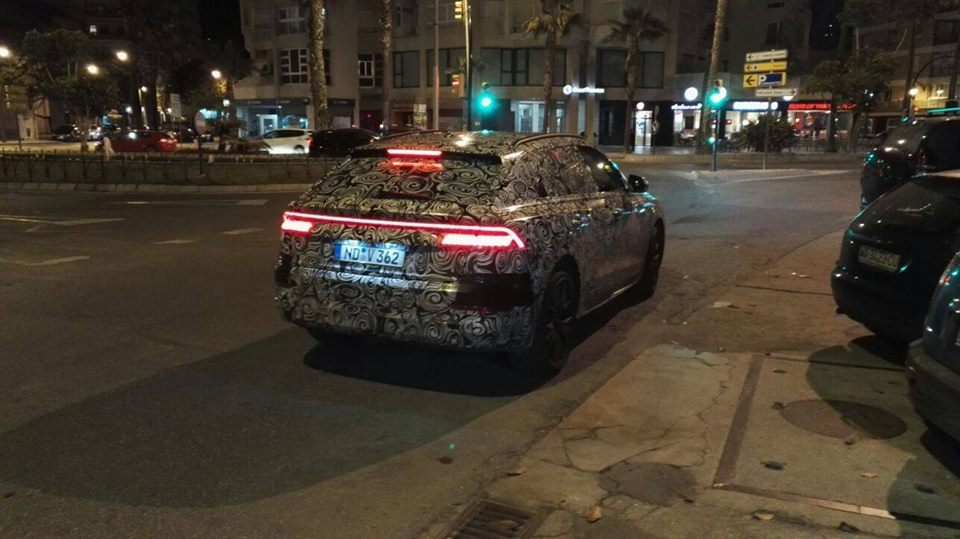 2019 Audi Q8 Spied Shows Lamborghini Urus Like Rear End Design