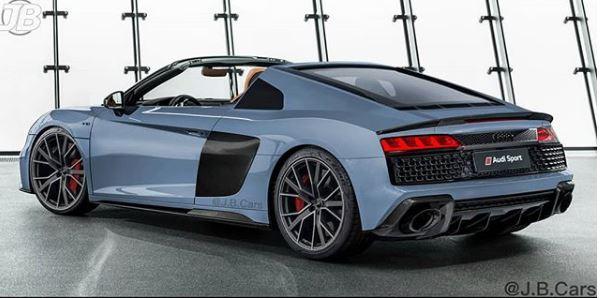 2019 Audi R8 Targa Rendered As Porsche 911 Targa Rival Autoevolution