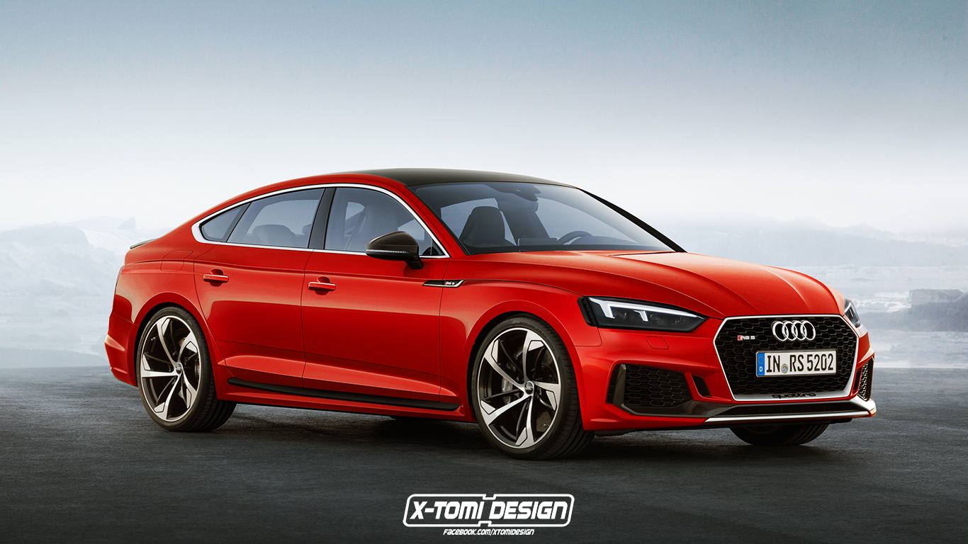 2019 audi rs5 sportback confirmed it s coming to the u s autoevolution. Black Bedroom Furniture Sets. Home Design Ideas