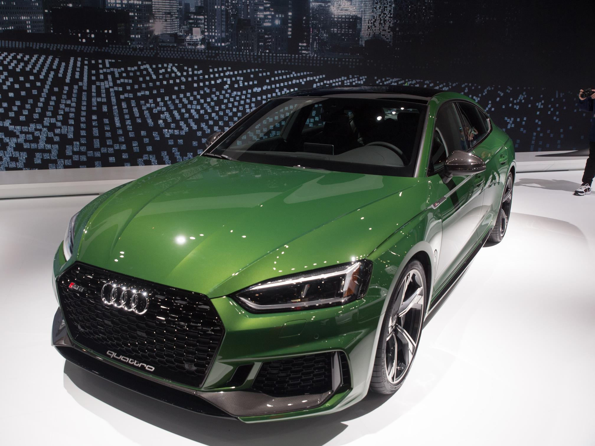 2019 Audi RS5 Sportback in Sonoma Green Is Anticlimactic ...
