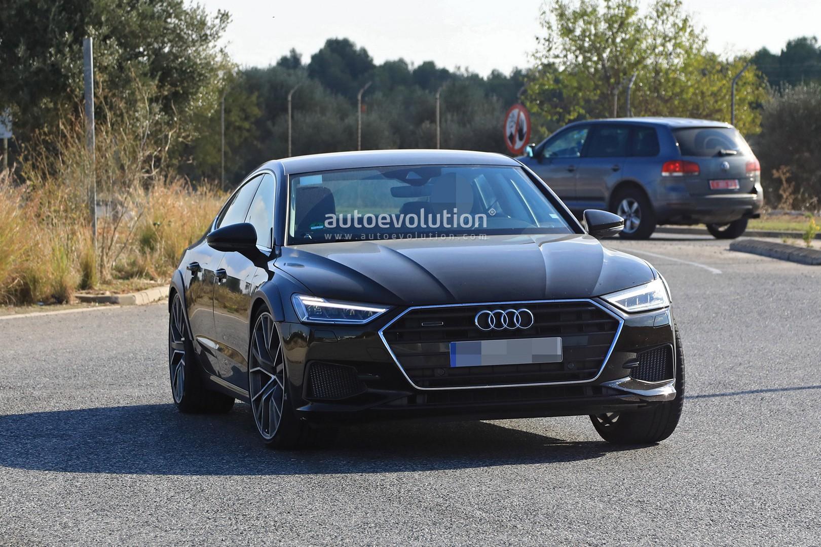 2019 Audi Rs7 Test Mule Makes Spyshots Debut