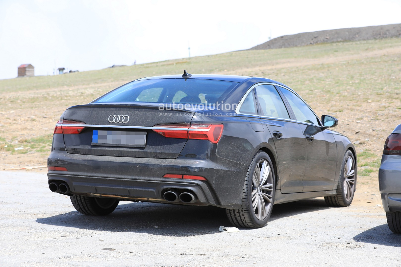 2019 Audi S6 Sedan Spied With Quad Exhaust Autoevolution