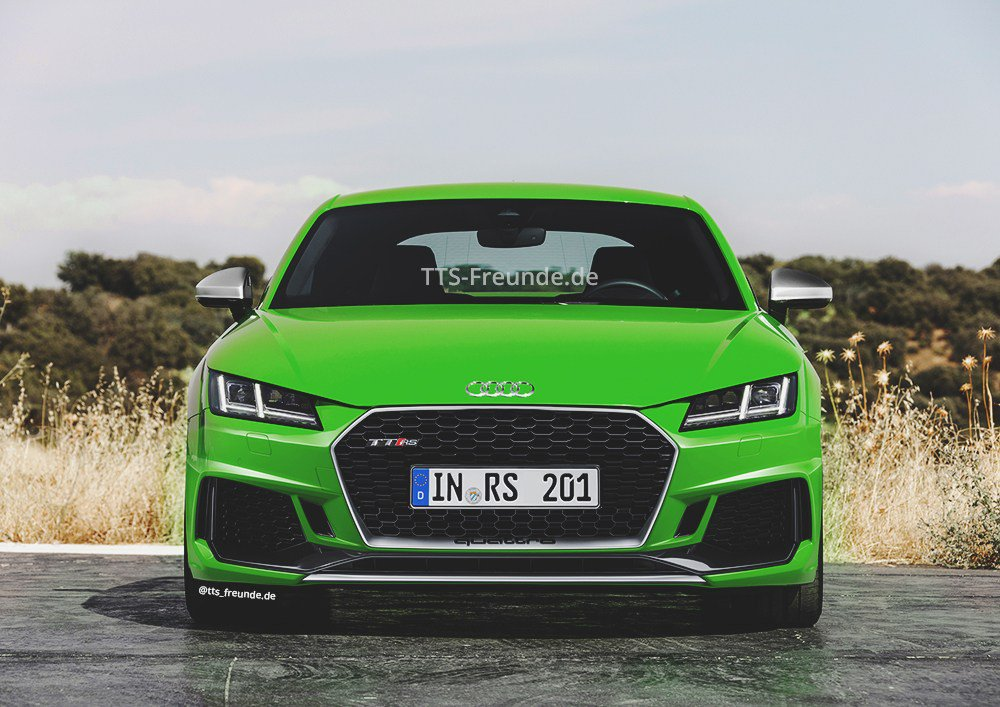 Audi TT gets a light refresh with new standard tech, tweaked looks