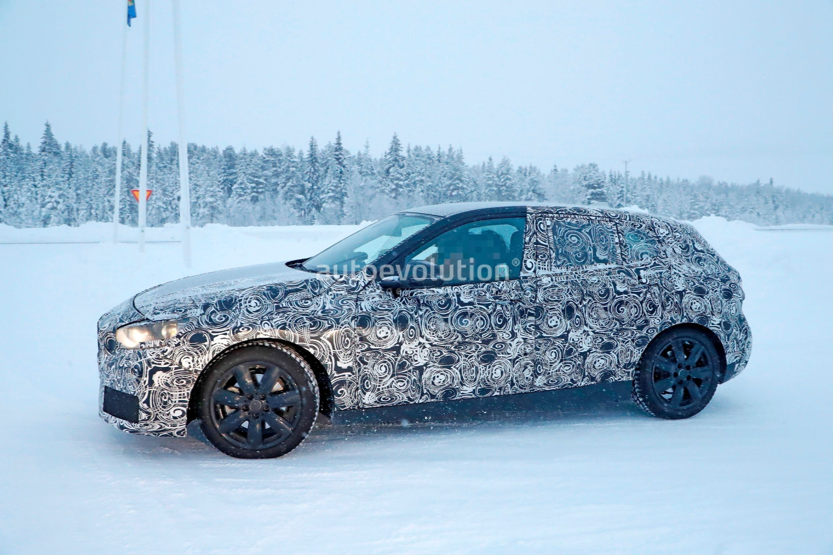 Spyshots 2019 Bmw 1 Series F40 Caught Playing In The Snow