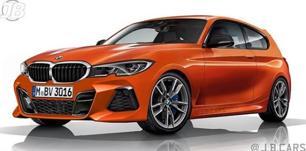 2019 Bmw 1 Series Rendered Looks Spot On Autoevolution