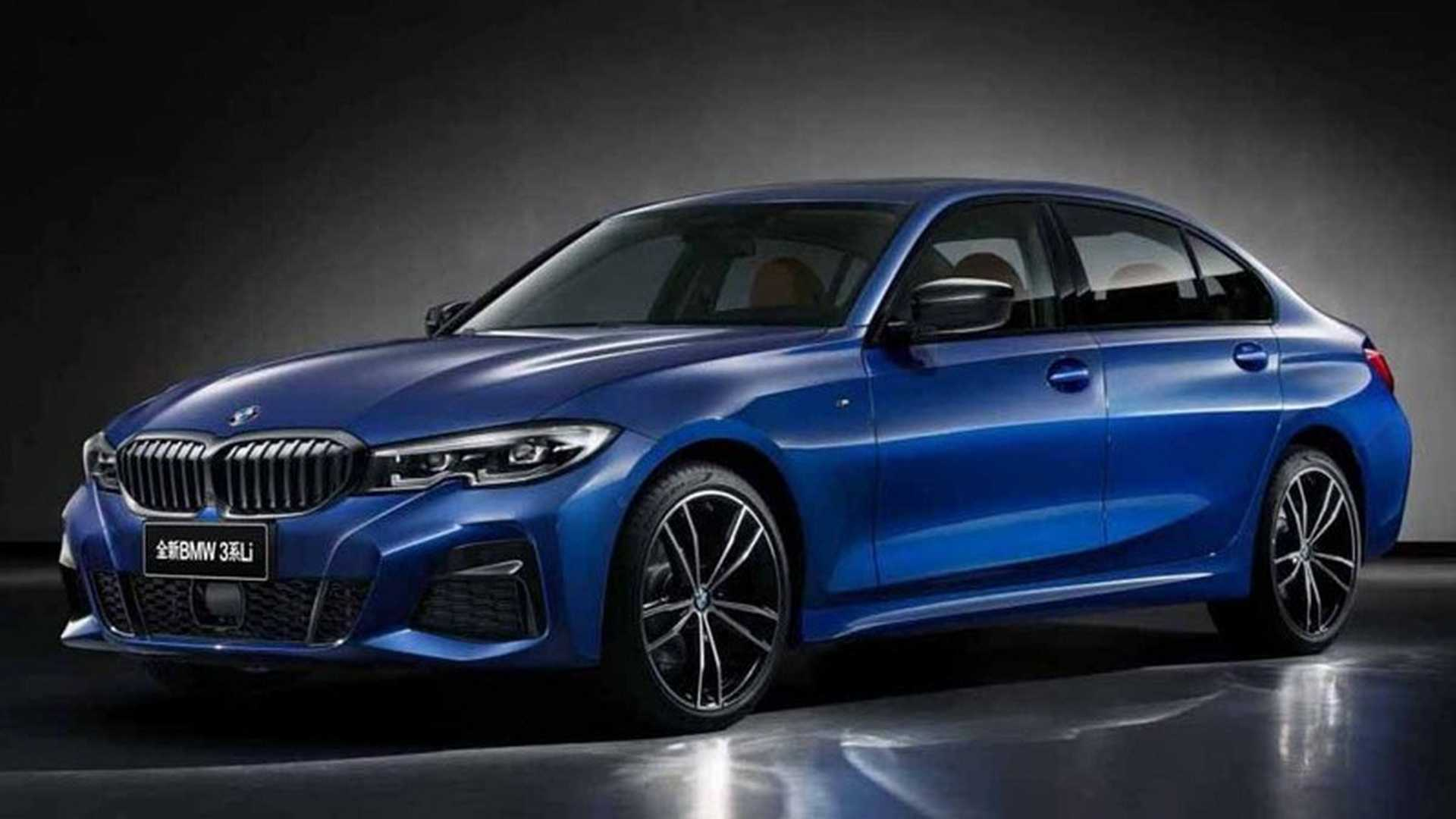 2019 Bmw 3 Series Shows Off Long Wheelbase In China Autoevolution