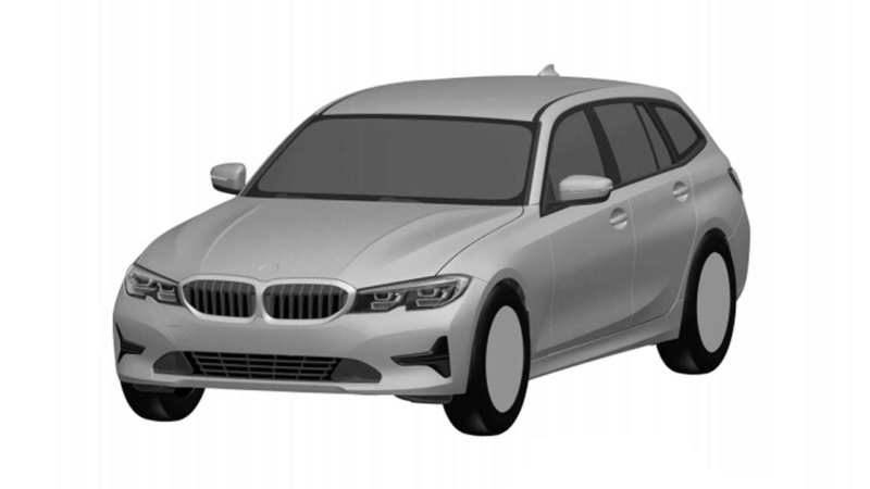 2019 Bmw 3 Series Touring Revealed By Patent Images Has No Kink