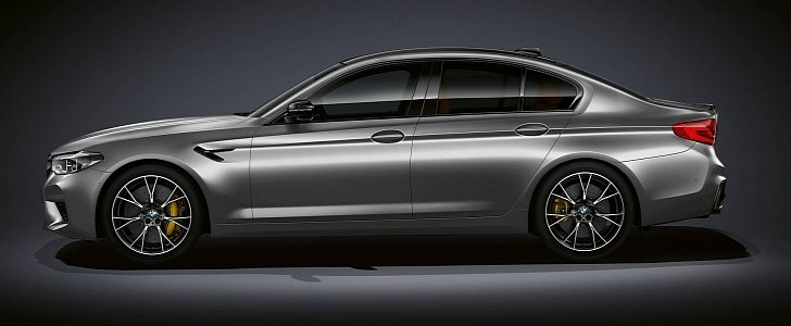 2019 Bmw M5 Competition Is 7 400 More Expensive Than