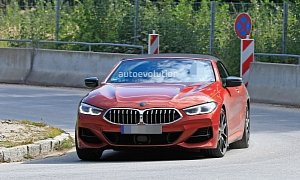 2019 Bmw M850i Xdrive Cabriolet Looks Stunning In Sunset Orange Me