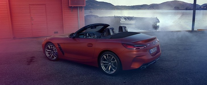 2019 Bmw Z4 M40i Revealed In Official Photos Ahead Of Pebble Beach Debut Autoevolution