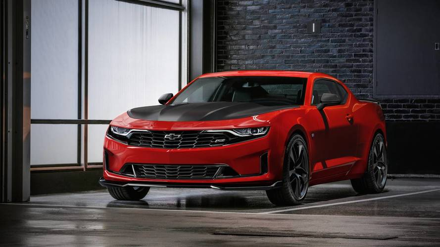 2019 Chevrolet Camaro Facelift Revealed Ss Adds 10 Speed
