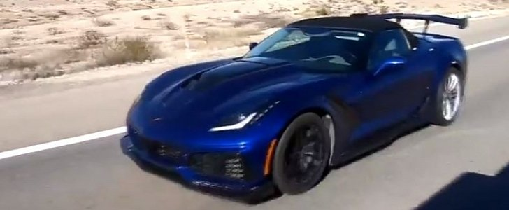 2019 Chevrolet Corvette ZR1 Spotted on the Road, ZTK Rear ...