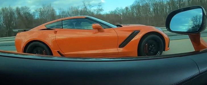2019 Chevrolet Corvette Zr1 Vs Mclaren 570s Drag Race Is
