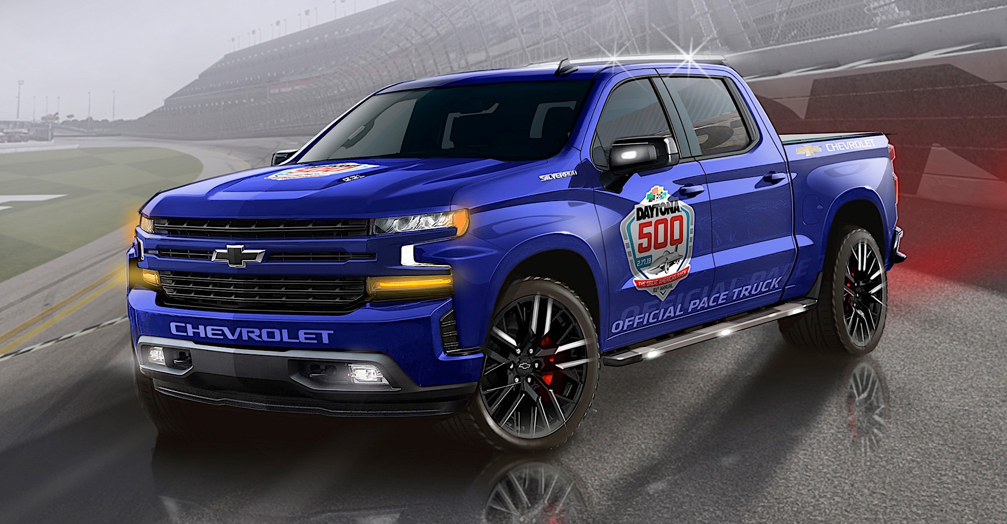 2019 Chevrolet Silverado to Become First Pickup to Pace ...