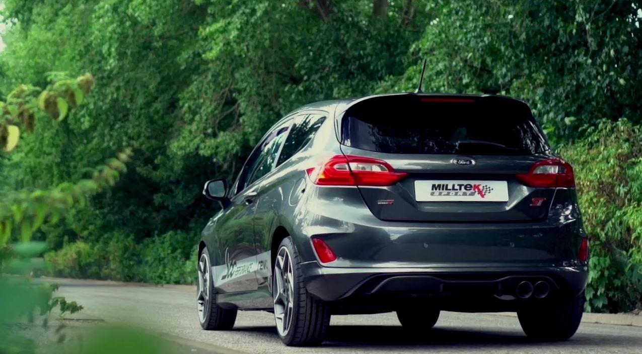 2019 Ford Fiesta ST Gets Milltek Sport Exhaust, and It's Fruity - autoevolution