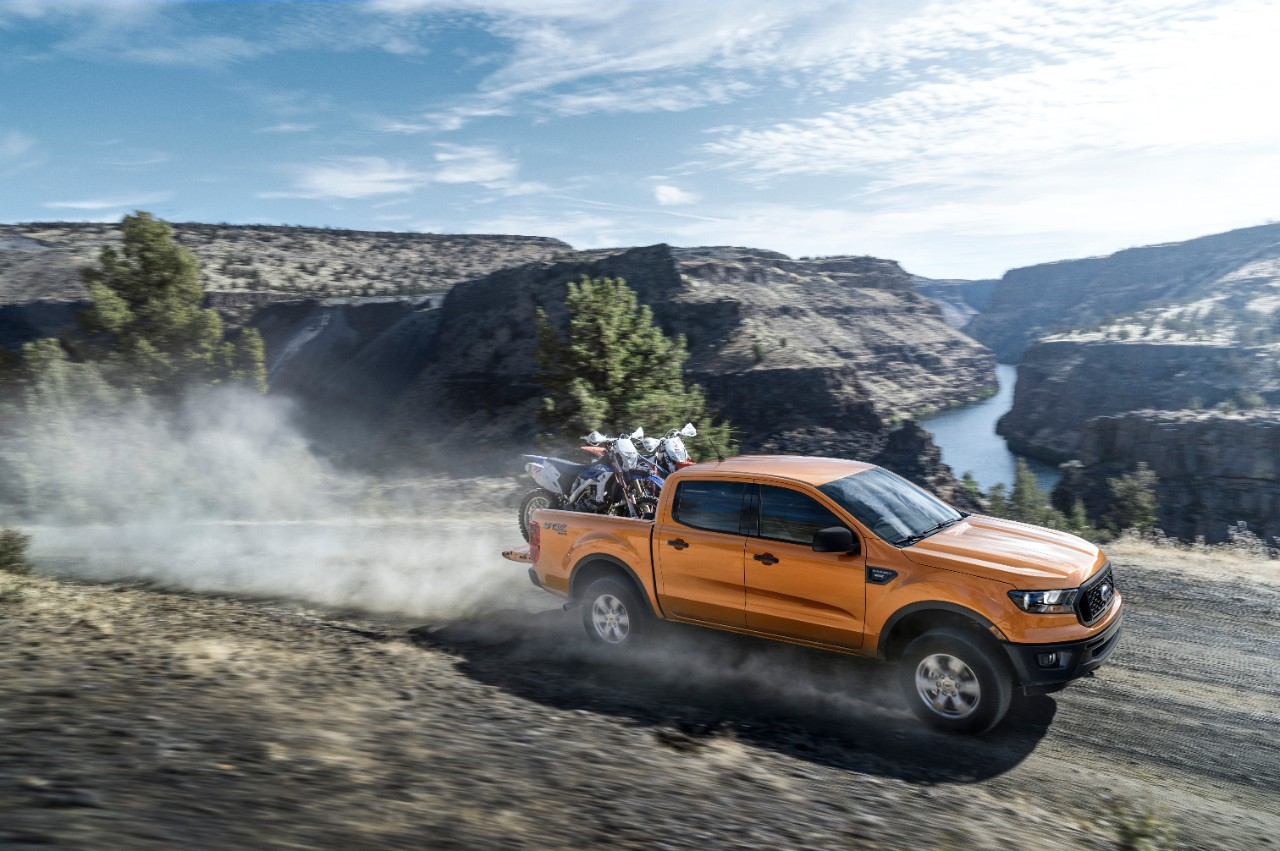 2019 ford ranger boasts best in class payload towing for The ford motor company