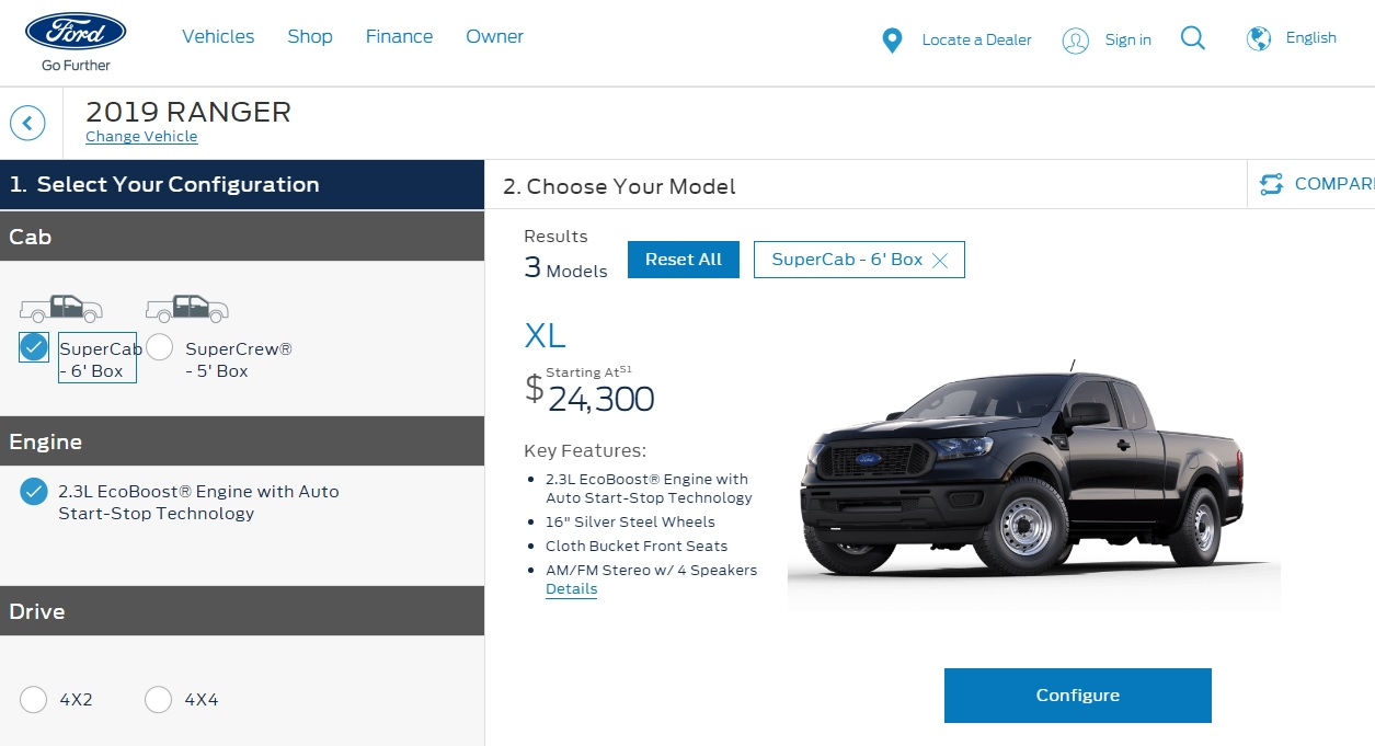 2019 Ford Ranger Pricing Announced Starting At 25 395
