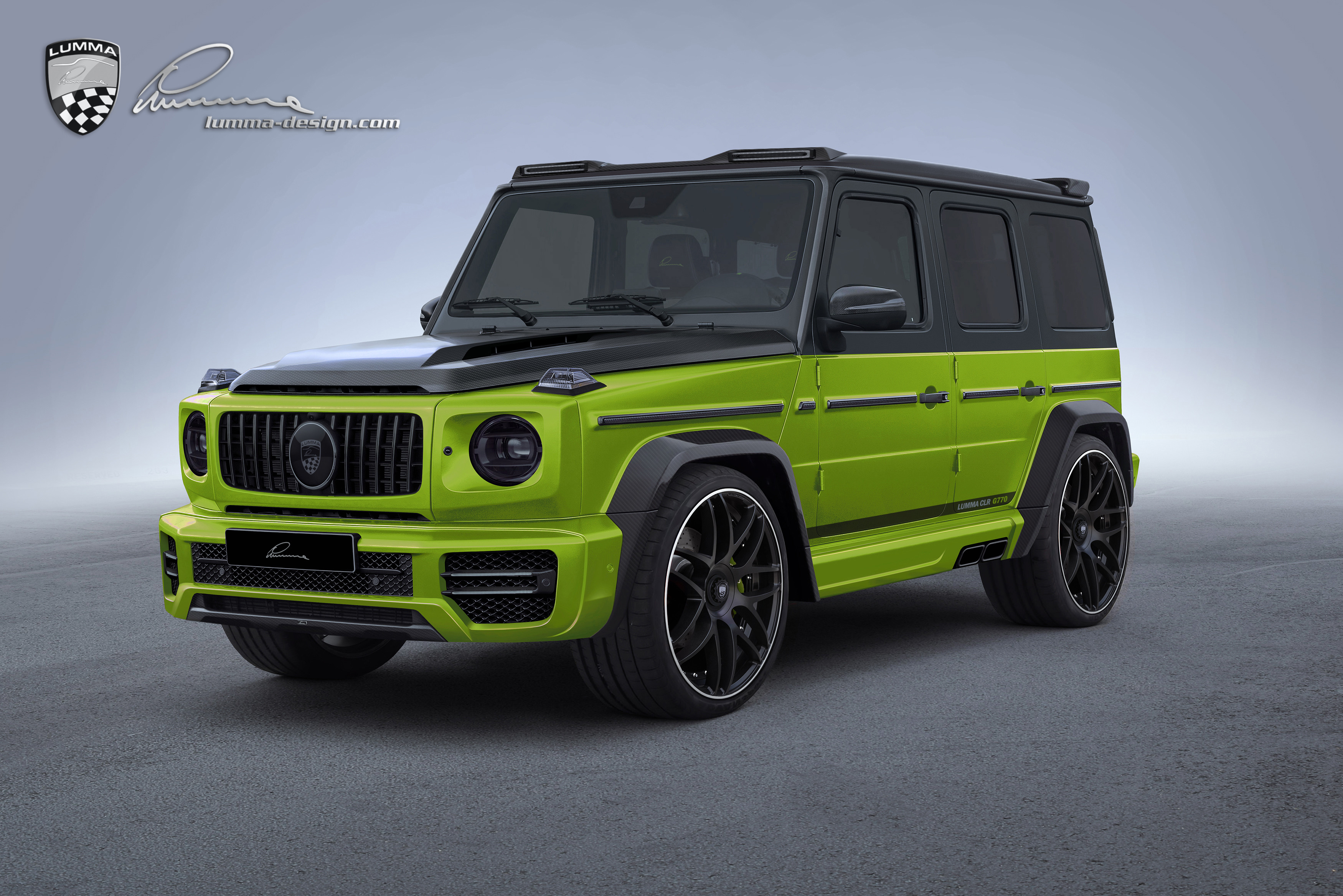 2019 G Class Clr G770 Body Kit Previewed By Lumma Design