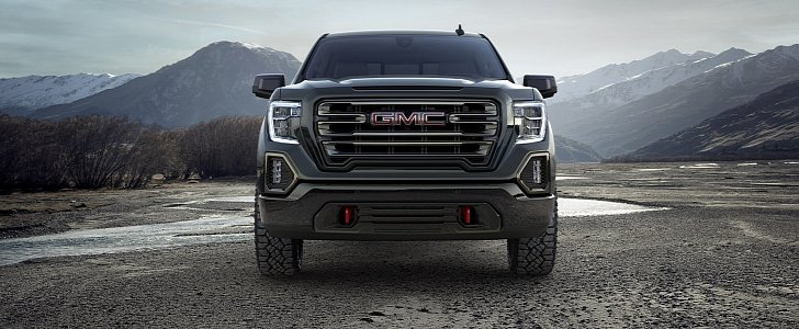 2019 GMC Sierra AT4 Is Made To Venture Off-Road - autoevolution