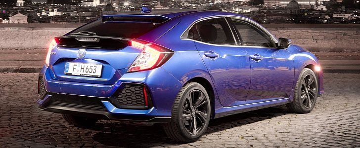 2019 Honda Civic Gets 1.6 Diesel With 9-Speed Automatic ...