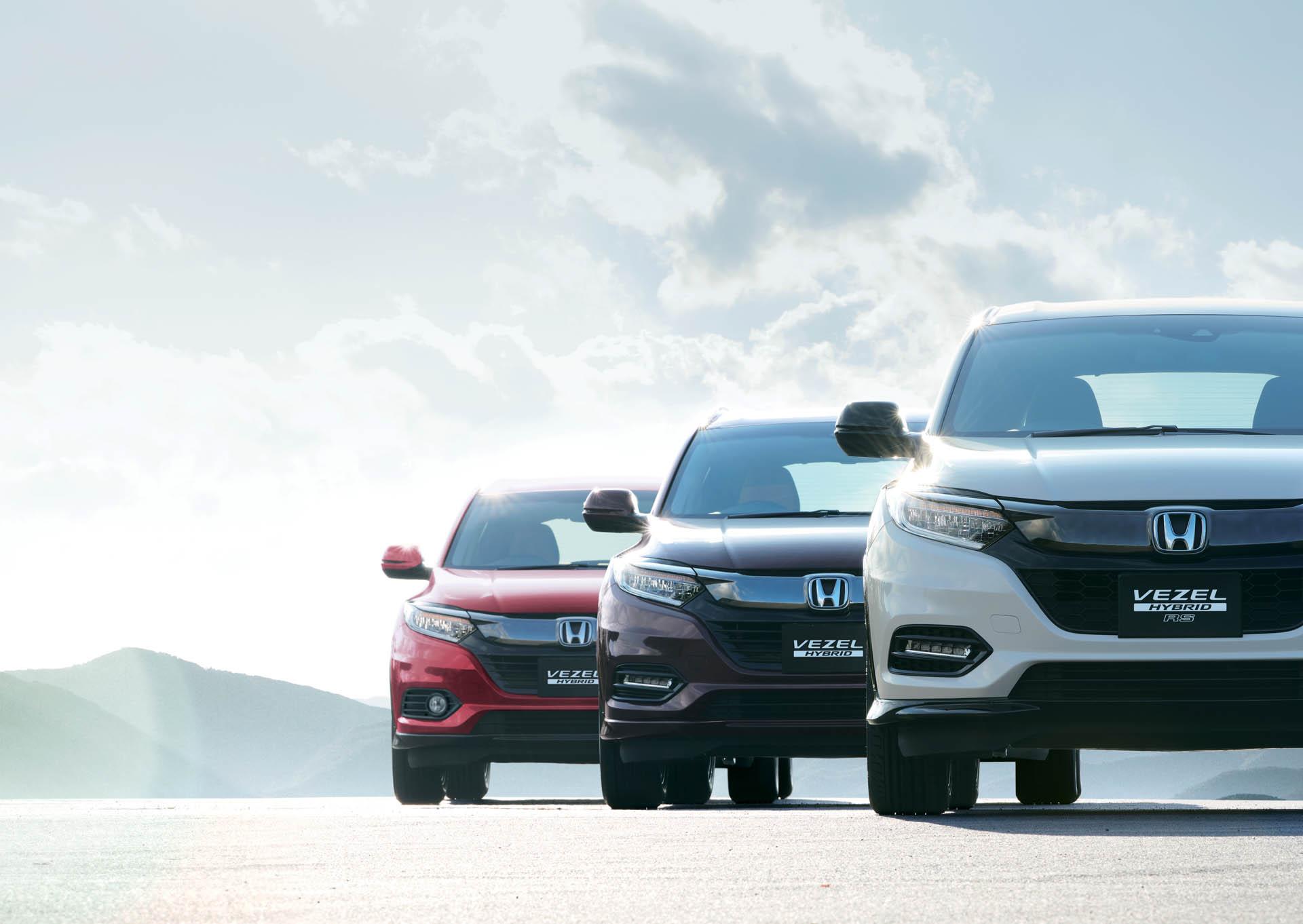 2019 Honda Hr V Facelift Launched In An As New Vezel