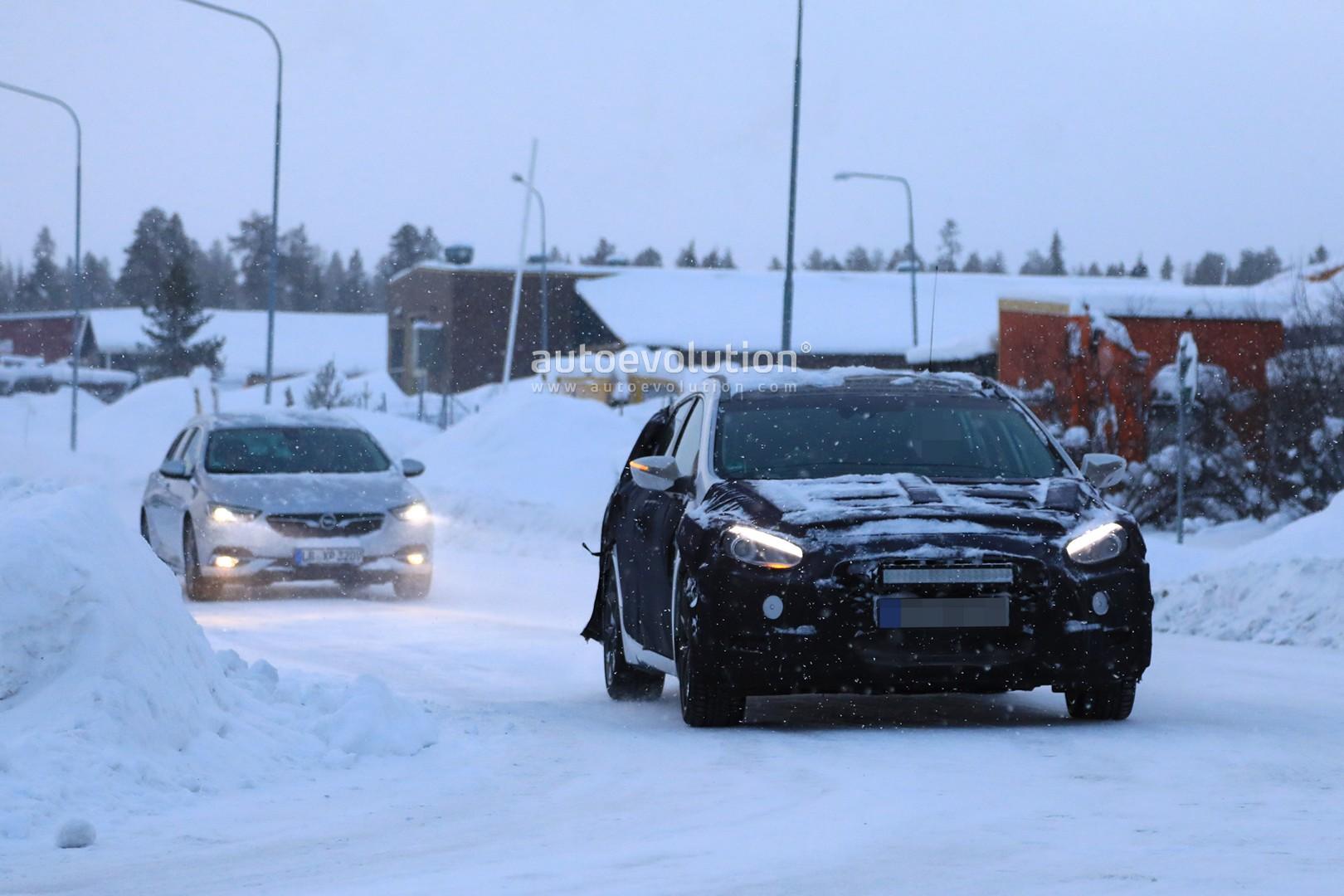 2019 Hyundai I40 Wagon Spied Winter Benchmark Testing With