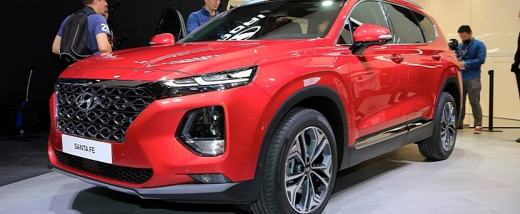 2019 hyundai santa fe brags with best-in-class safety features at geneva