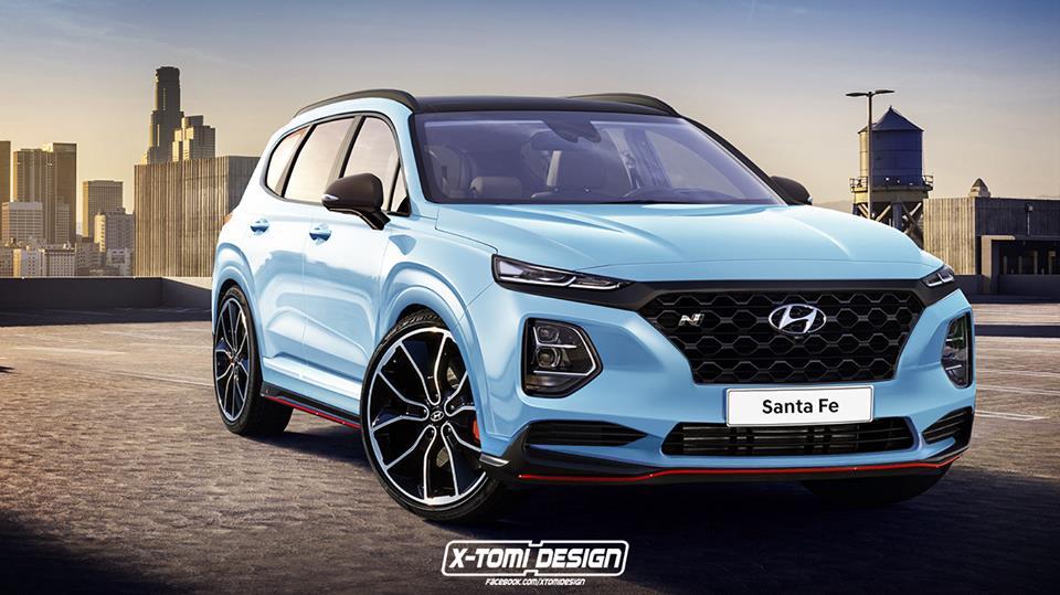 Ford Neuheiten 2018 >> 2019 Hyundai Santa Fe N Rendering Is Too Good To Be True - autoevolution