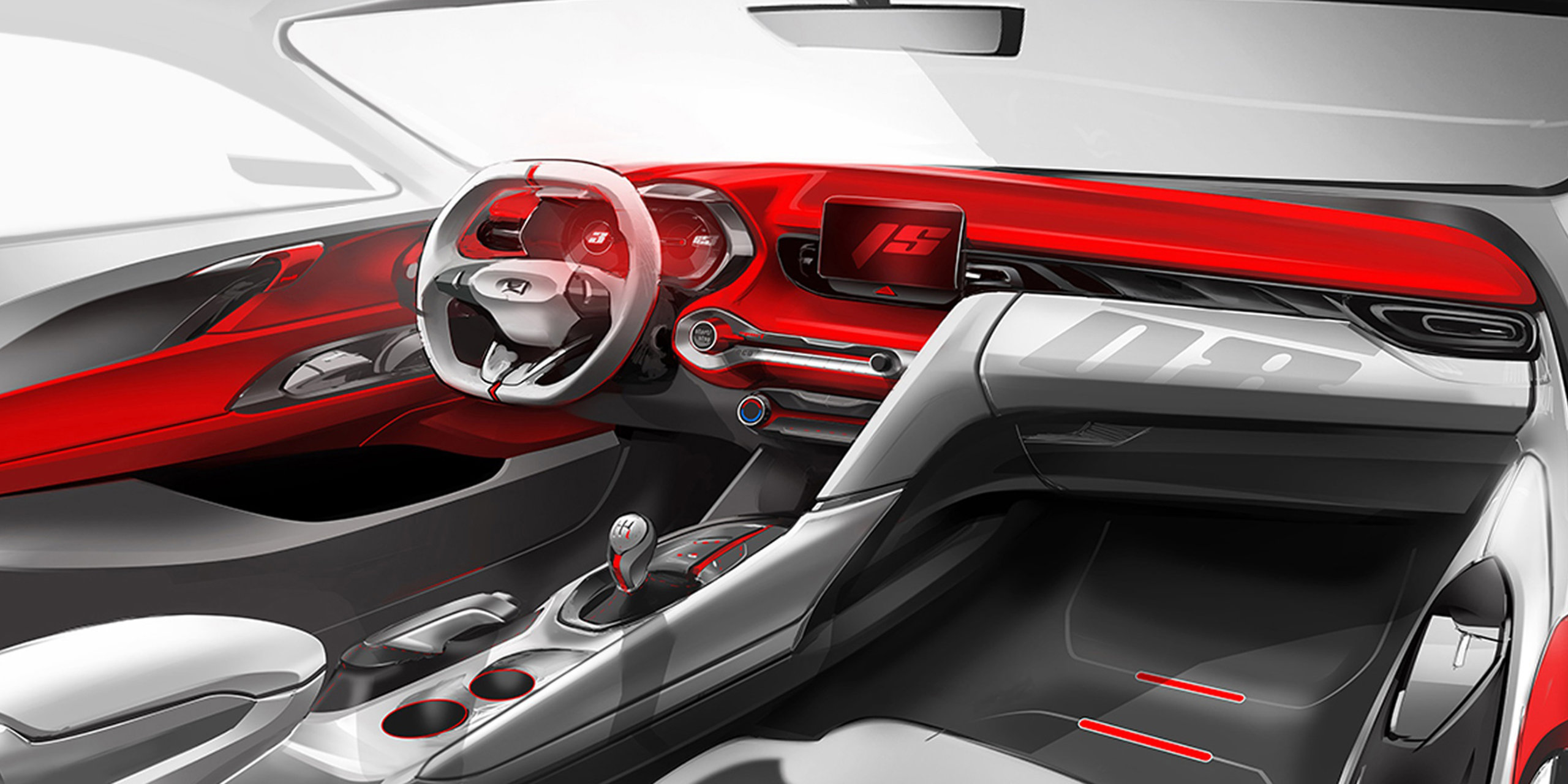 2019 hyundai veloster interior teased bristles with sportiness autoevolution. Black Bedroom Furniture Sets. Home Design Ideas
