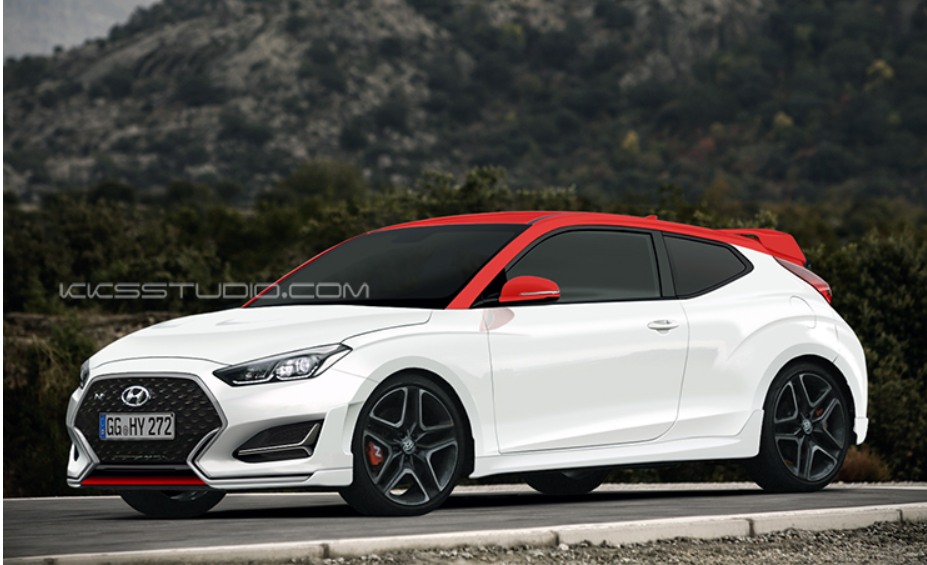 2019 Hyundai Veloster N Rendering Has The Hot Stuff Autoevolution