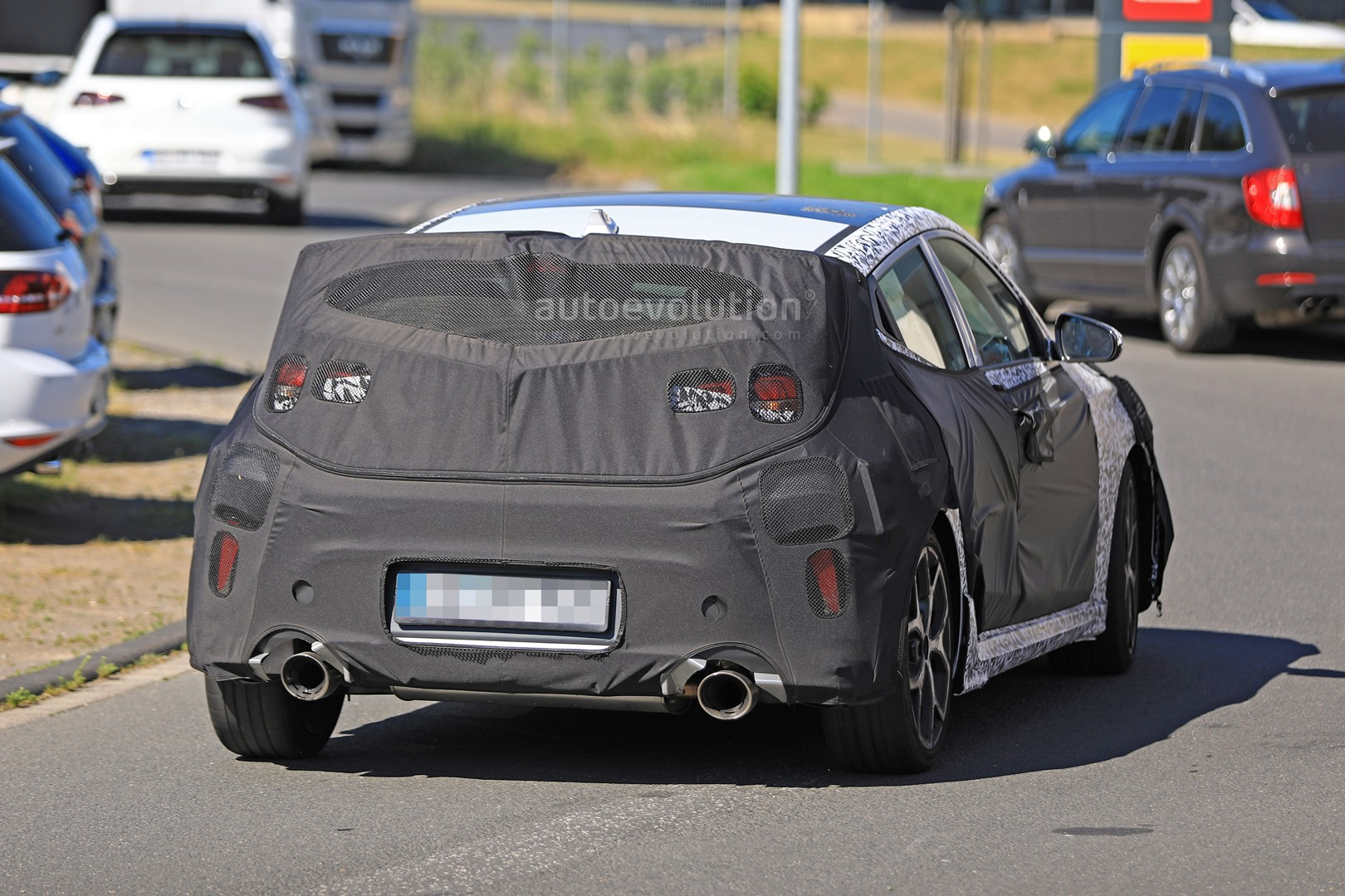 2019 Hyundai Veloster N Spied with Massive Exhaust Pipes, Will