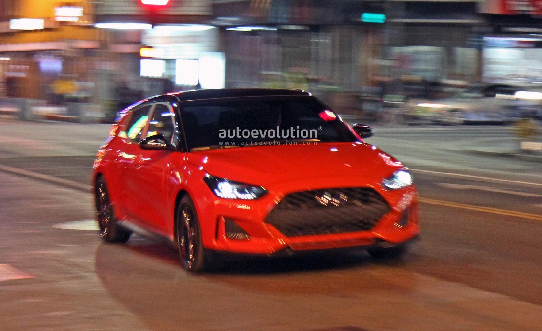 Spyshots 2019 hyundai veloster undisguised during shoot for Hyundai motor company usa
