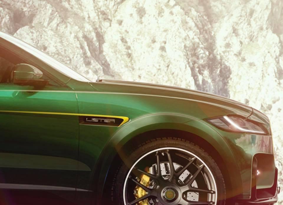 2019 Jaguar F Pace Svr Based Lister Lightning Is The World S Fastest Suv Autoevolution