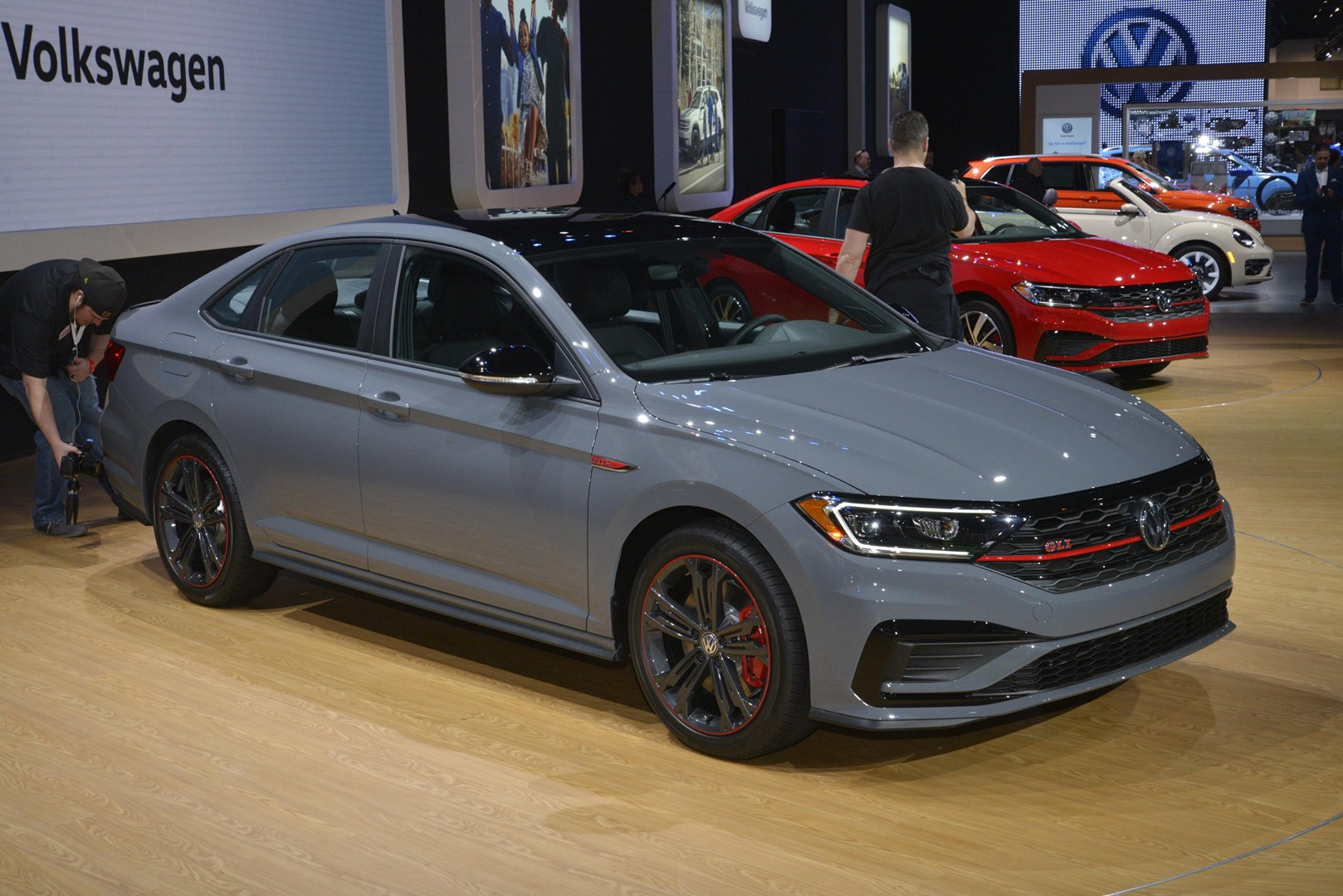 2019 Jetta GLI Shows Cool Gray Paint on 35th Anniversary Edition - autoevolution