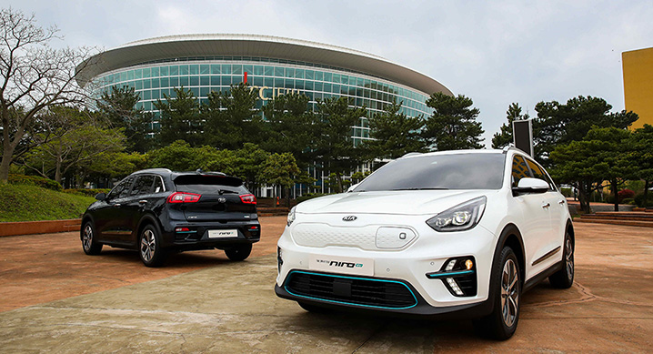 Nero Plug In Hybrid >> 2019 Kia Niro EV Revealed in South Korea - autoevolution