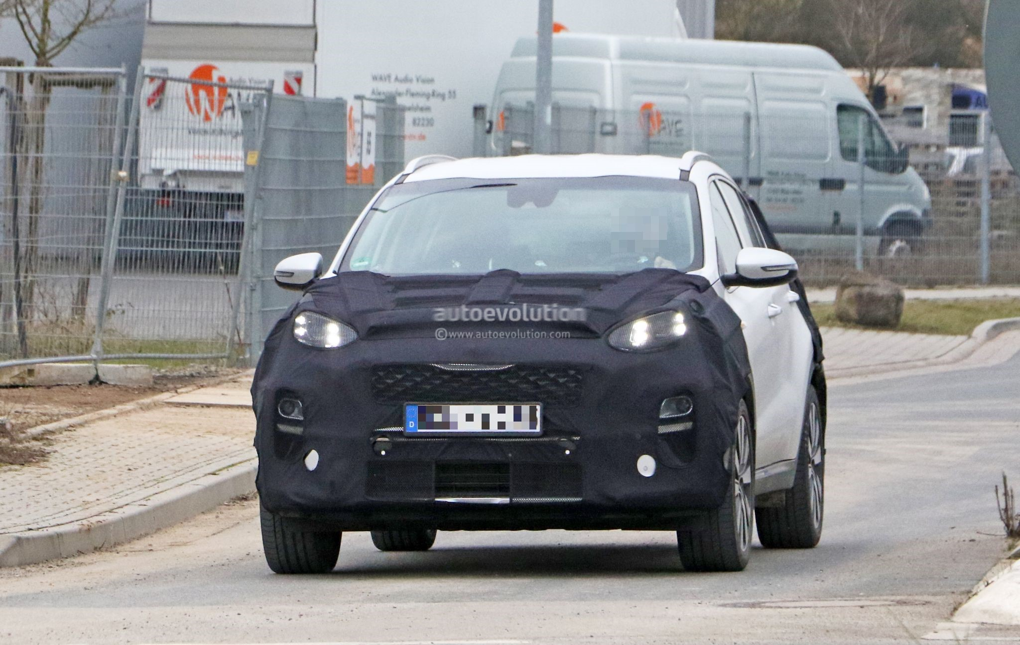 2019 kia sportage spied testing in germany looks almost. Black Bedroom Furniture Sets. Home Design Ideas