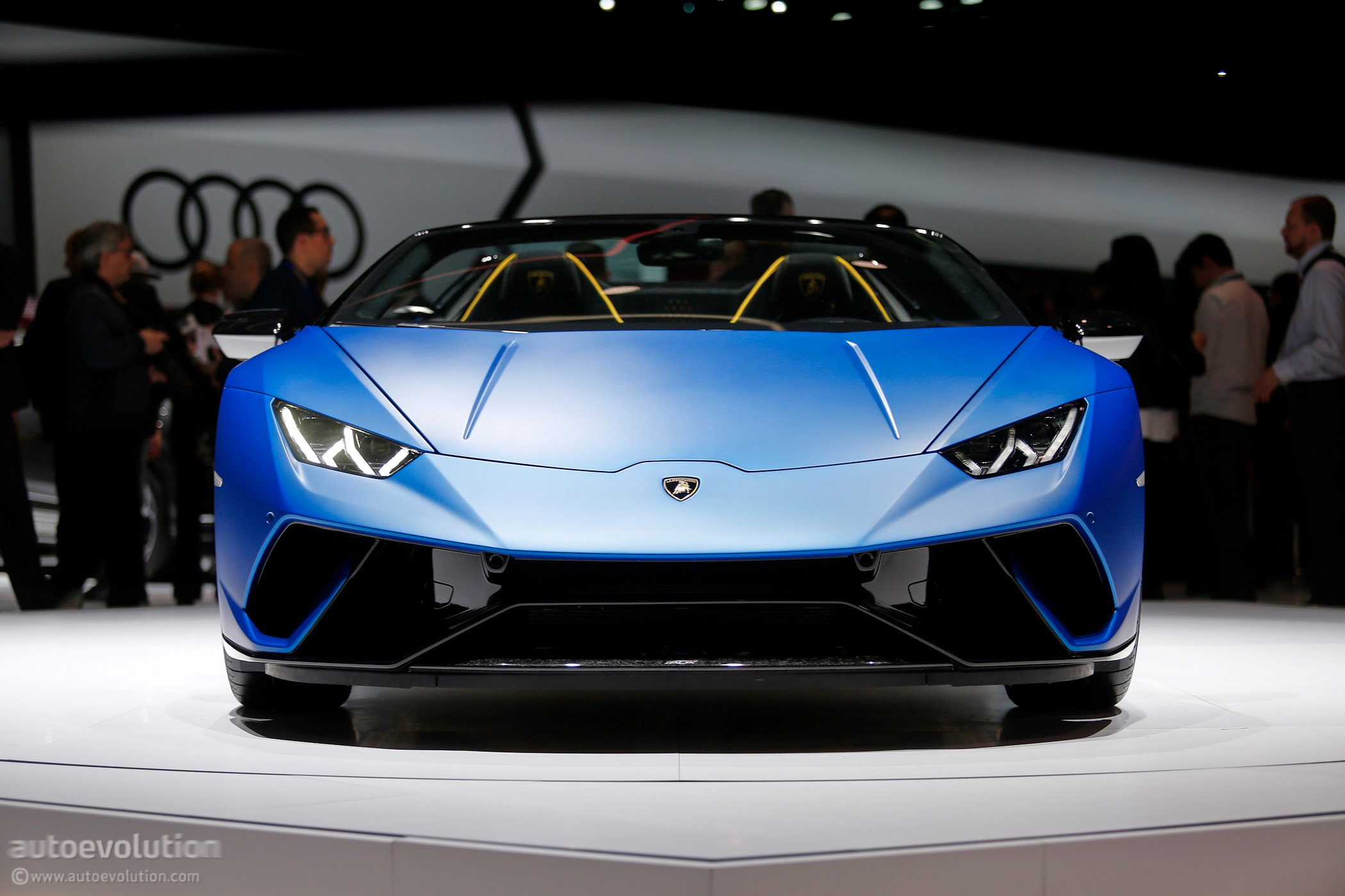 2019 Lamborghini Huracan Performante Spyder Makes Jaws Drop