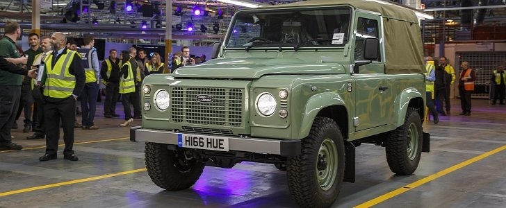 2019 land rover defender launch could be delayed reports say autoevolution. Black Bedroom Furniture Sets. Home Design Ideas