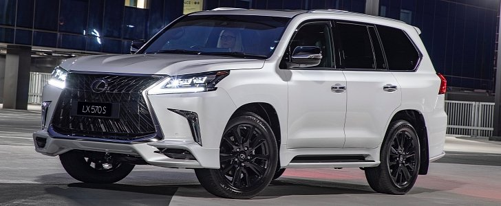 2019 Lexus Ls F >> 2019 Lexus LX 570 S Debuts in Australia With Angry Body Kit - autoevolution