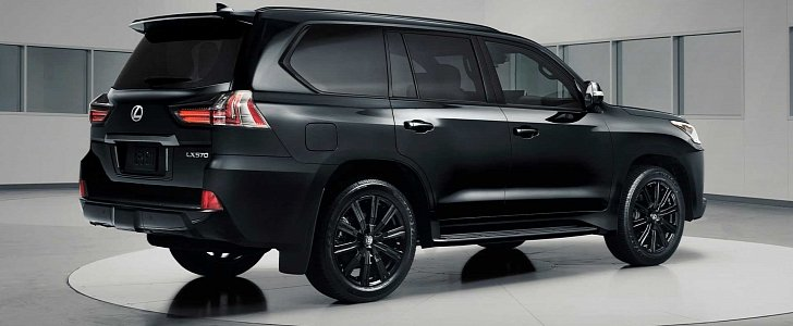 2019 Lexus Lx Inspiration Series Revealed In Black Onyx