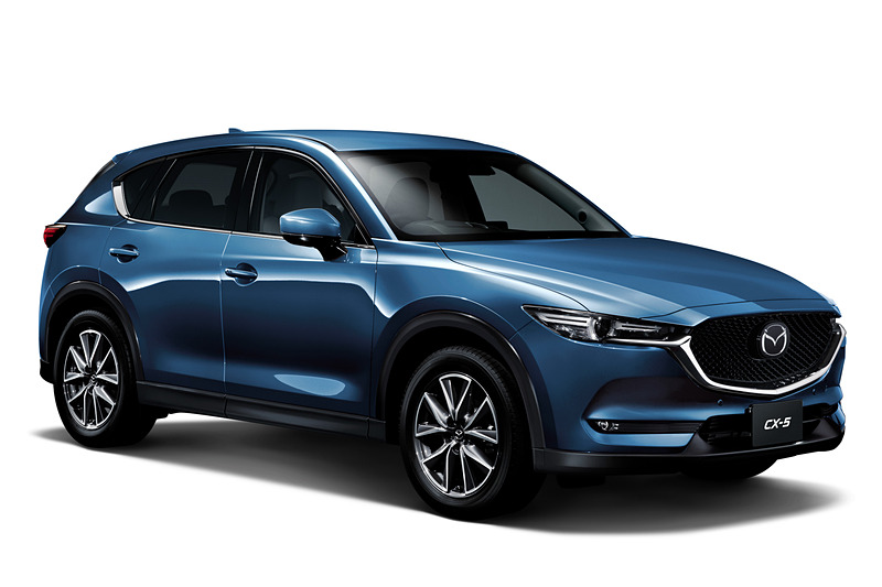 2019 mazda cx-5 gets 2.5-liter turbo, android auto and apple carplay