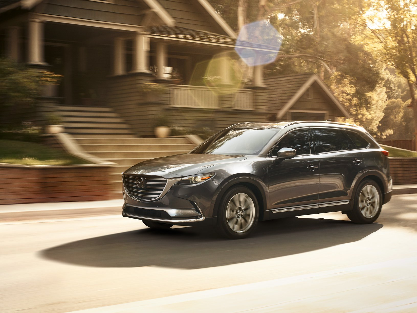 2019 mazda cx 9 gets apple carplay android auto and. Black Bedroom Furniture Sets. Home Design Ideas
