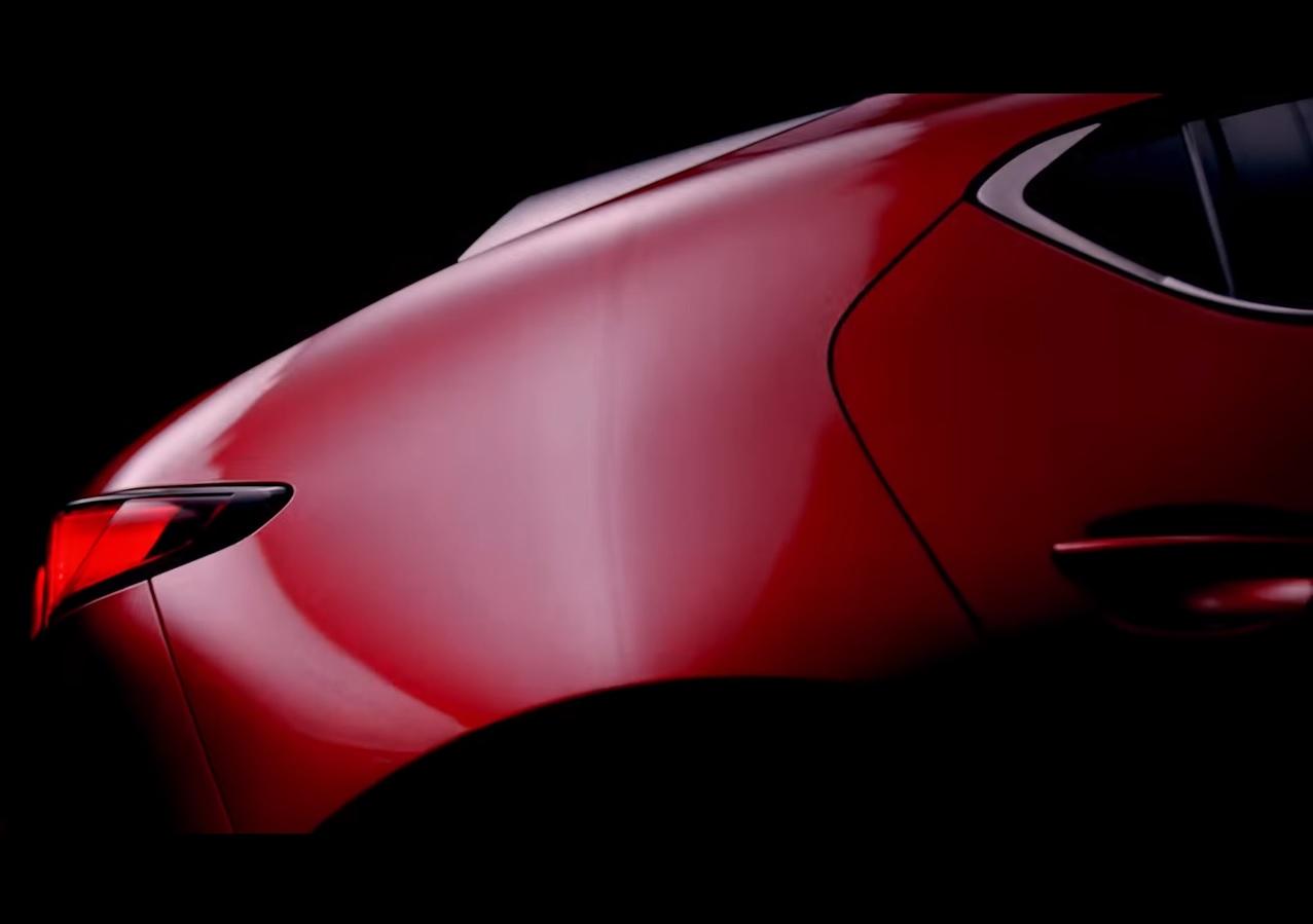 2019 Mazda3 Teaser Video Shows Hatchback Body Style, Looks ...