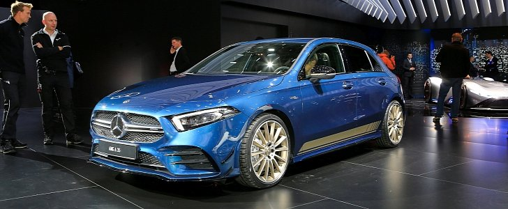 2019 Mercedes Amg A35 Is The New Quot Baby Amg Quot In Paris