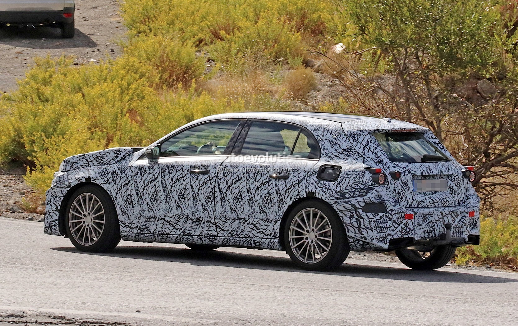 2019 mercedes amg a40 shows up looking like a sleeper for Looking for used mercedes benz
