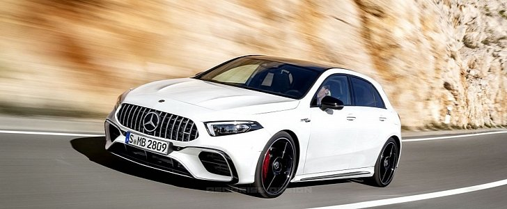 2019 Mercedes Amg A45 Getting All New Engine With 400 Plus